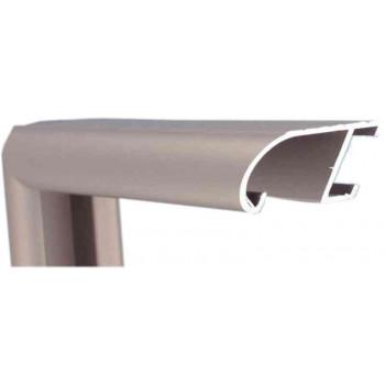 Алюминиевый багет корица матовый 89-10
