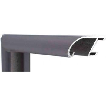 Алюминиевый багет бордовый 89-308