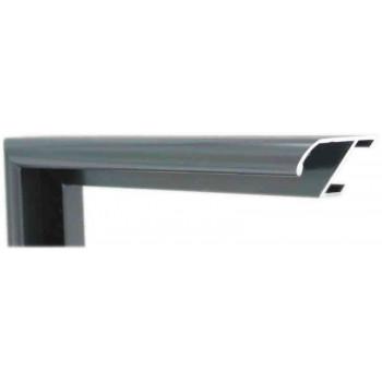 Алюминиевый багет серое олово матовый 905-17