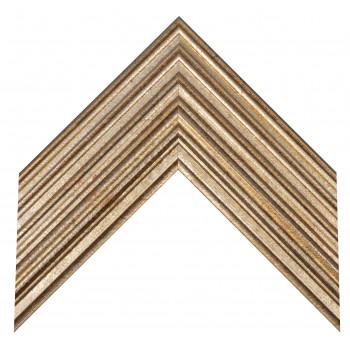 Деревянный багет Серебро А-В110451