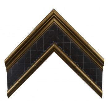 Деревянный багет Золото А-В360601
