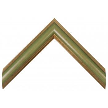 Деревянный багет Зеленый 0562 / 6013 E.L.