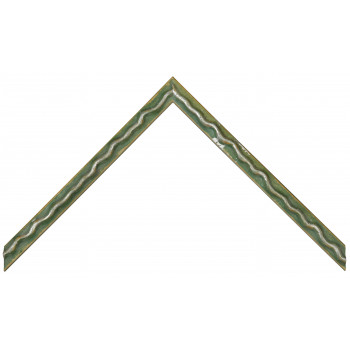 Деревянный багет Зеленый 064.34.047