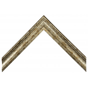 Деревянный багет Серебро 068.44.044