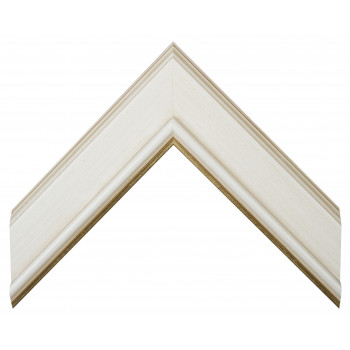 Деревянный багет Белый 11563051
