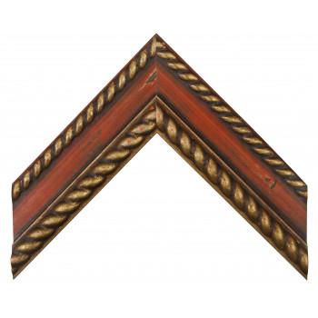 Деревянный багет Красный 12483335