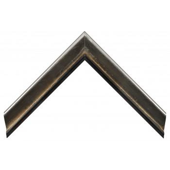 Деревянный багет Серебро 13533254