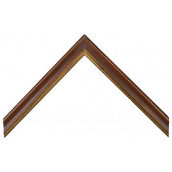 Деревянный багет Коричневый 13723046