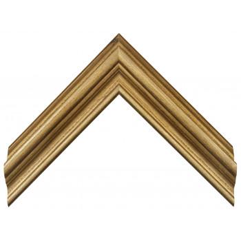 Деревянный багет Золото 18563055