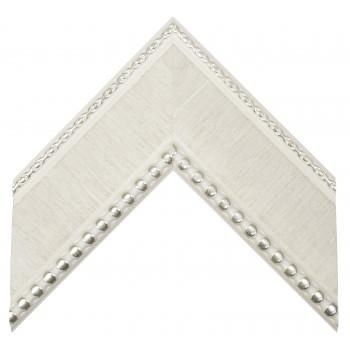 Пластиковый багет Белый 214-6
