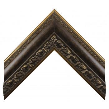 Пластиковый багет Серо-коричневый 228-648