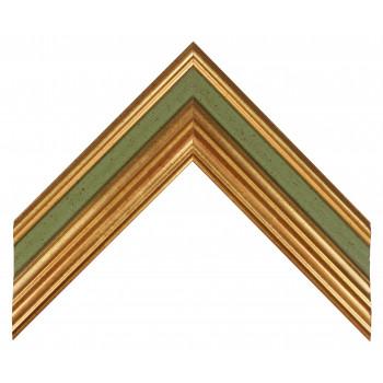 Деревянный багет Зеленый 279.63.047
