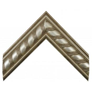 Пластиковый багет Серебро 308L-635