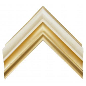 Деревянный багет Золото 348.64.048