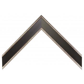 Пластиковый багет Черный 352-844S