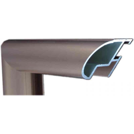 Алюминиевый багет медь 48-16 в интернет-магазине ROSESTAR фото