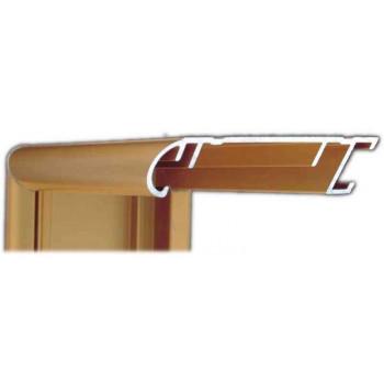 Алюминиевый багет золото матовый 58-14