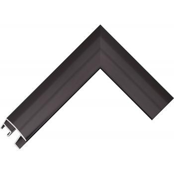 Алюминиевый багет черный 69-26