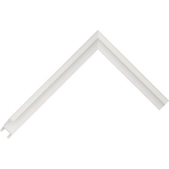 Алюминиевый багет белый 84-31