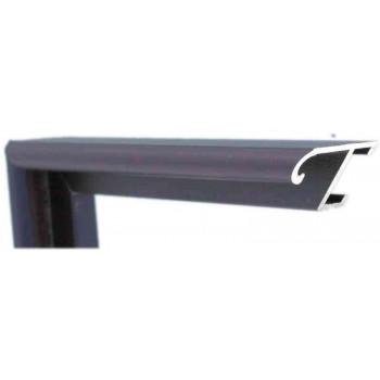 Алюминиевый багет фиолетовый 85-306