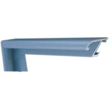 Алюминиевый багет голубой 85-44