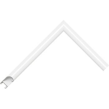 Алюминиевый багет белый глянцевый 89-102