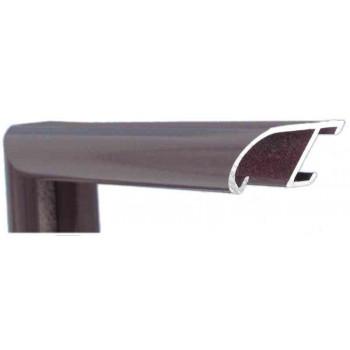 Алюминиевый багет оникс бордо 89-206