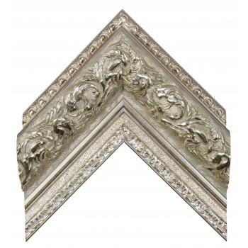 Пластиковый багет Серебро 947-956