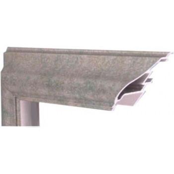Алюминиевый багет малахит М2-510