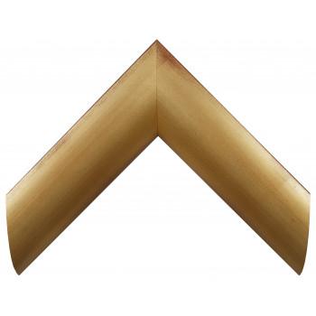 Деревянный багет Золото А-В100801