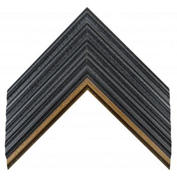 Деревянный багет Черный А-В110452
