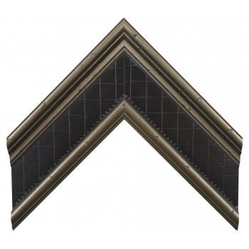 Деревянный багет Серебро А-В360602
