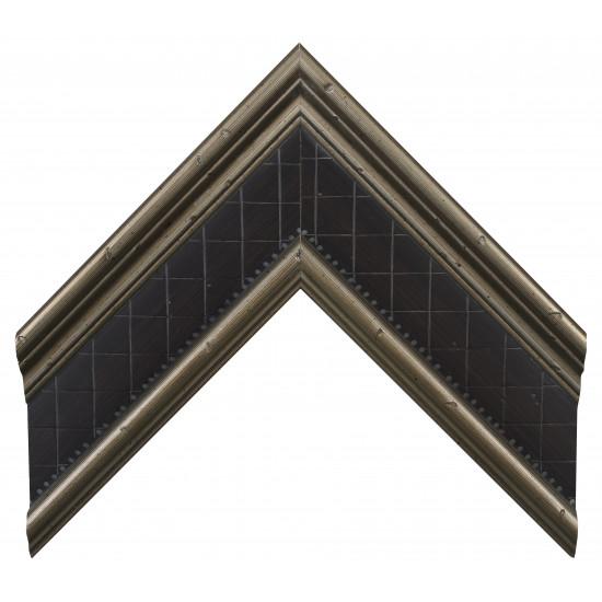 Деревянный багет Серебро А-В360602 в интернет-магазине ROSESTAR фото