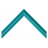 Деревянный багет Сине-зеленый 030.53.225
