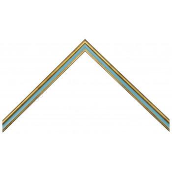 Деревянный багет Голубой 115.21.016