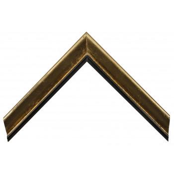 Деревянный багет Золото 13533255