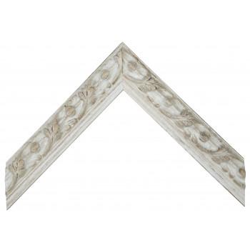 Деревянный багет Белый 15343209