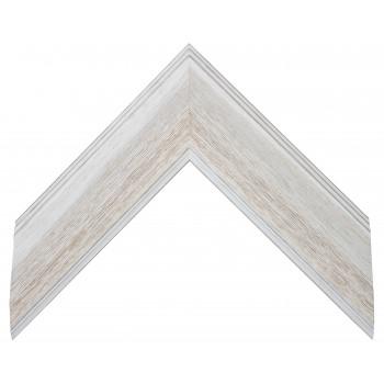 Деревянный багет Белый 208.73.286