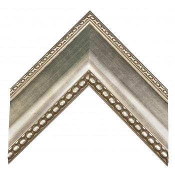 Пластиковый багет Серебро 214-638