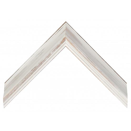 Деревянный багет Белый 235.63.058 в интернет-магазине ROSESTAR фото
