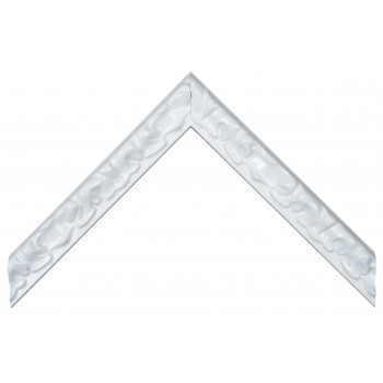 Деревянный багет Белый 270.33.048