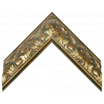 Деревянный багет Золото 274.64.060