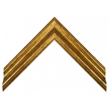 Деревянный багет Золото 276.33.031