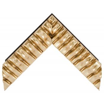 Деревянный багет Золото 338.64.043