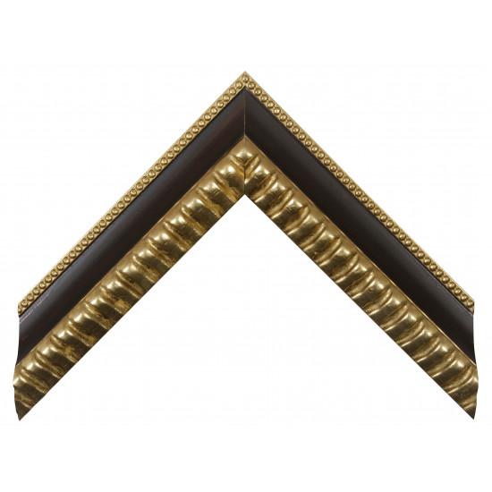 Деревянный багет Золото 341.44.216 в интернет-магазине ROSESTAR фото