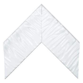 Деревянный багет Белый глянцевый 390.44.048