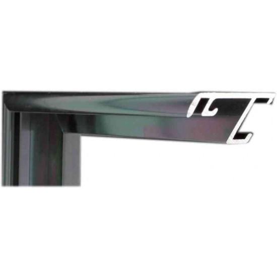 Алюминиевый багет оружейный металл 52-20 в интернет-магазине ROSESTAR фото