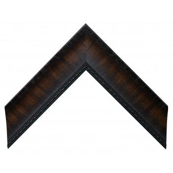 Пластиковый багет Темно-коричневый 548-133