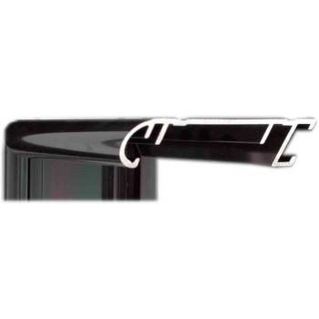 Алюминиевый багет оружейный металл 58-20