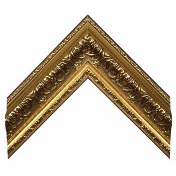 Пластиковый багет Золото 696-352
